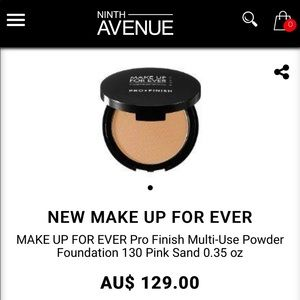 Make Up For Ever Pro Finish Wet+Dry Foundation